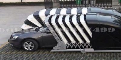 مظلة سيارة متنقلة