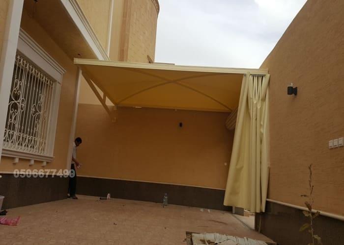 مظلة سيارات الرياض