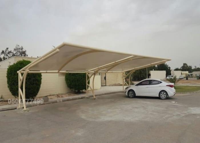 مظلات سيارات كابولي