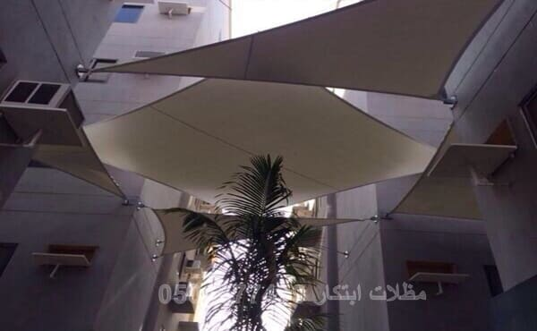 مظلات مختلفة