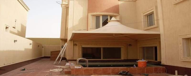مظلات سكنية